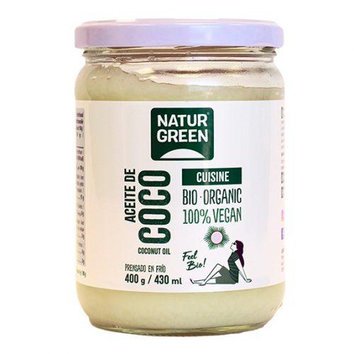 Naturgreen Aceite de Coco (Cocina) Bio 400 gr