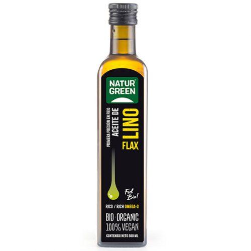 Naturgreen Aceite de Lino Bio 500 ml