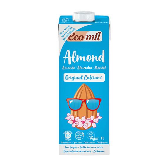 Ecomil Bebida Almendra Calcio Bio 1 lt