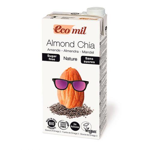 Ecomil Bebida Almendra Chia Nature Bio 1 lt