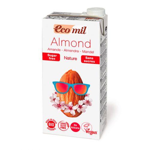 Ecomil Bebida Almendra Nature Bio 1 lt