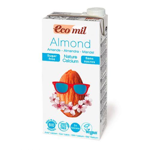 Ecomil Bebida Almendra Nature Calcio s/Az. Bio 1 lt