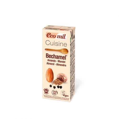 Ecomil Bechamel de Almendra Bio 200 ml (Aroma de Nuez Moscada)