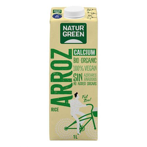 Naturgreen Bebida Arroz Calcio Bio 1 lt