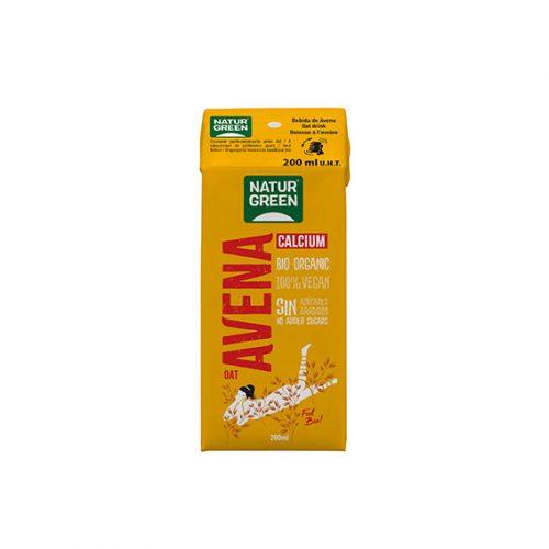 Naturgreen Bebida Avena Calcio Bio 200 ml