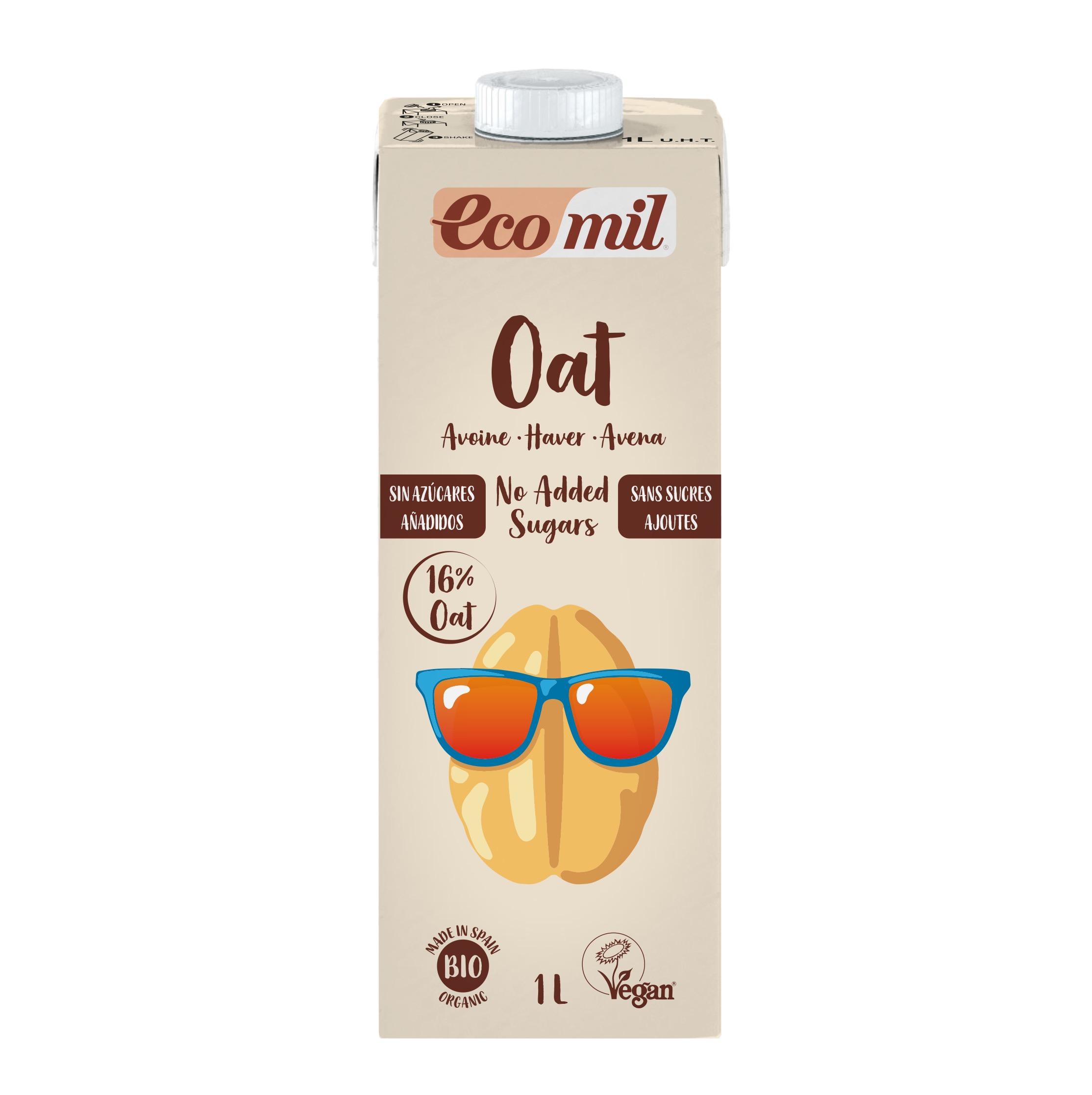 Ecomil Bebida Avena Nature Sin Azucar Bio 1 lt