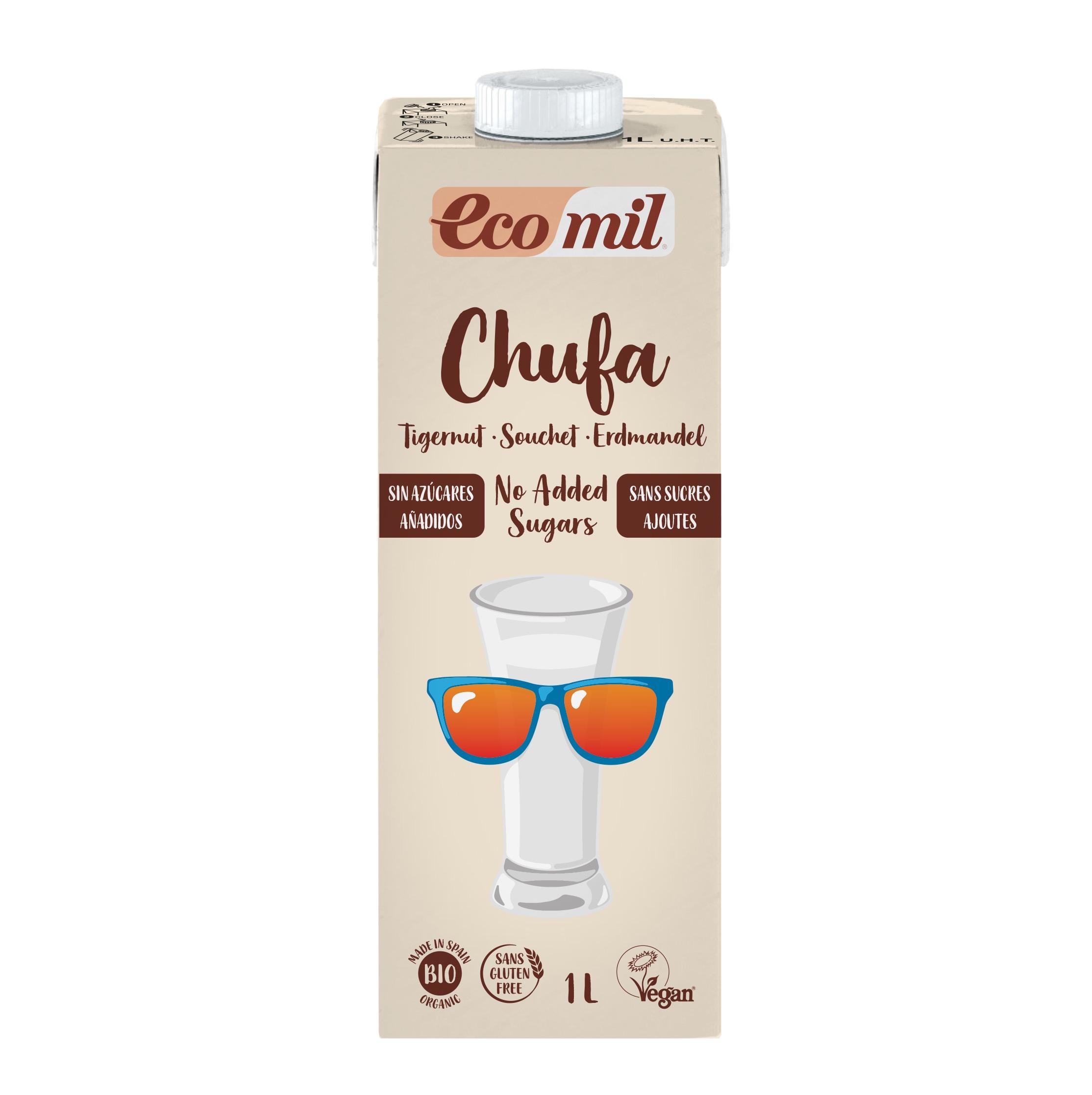 Ecomil Bebida Chufa Nature Bio 1 lt
