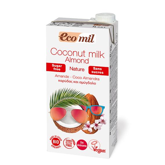 Ecomil Bebida Coco Almendra Nature Bio 1 lt