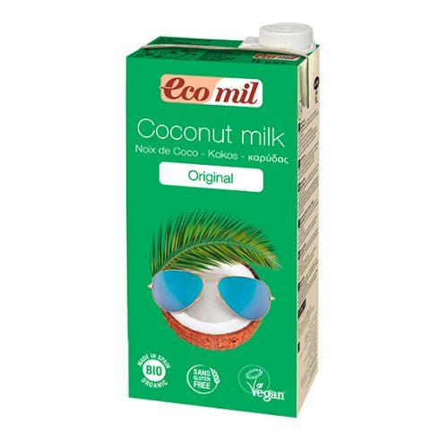 Ecomil Bebida Coco (Original) Bio 1 lt