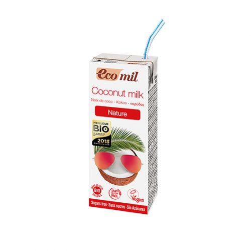 Ecomil Bebida Coco Nature Bio 200 ml.