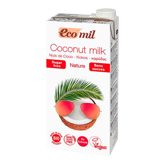 Ecomil Bebida Coco Nature Bio 1 lt