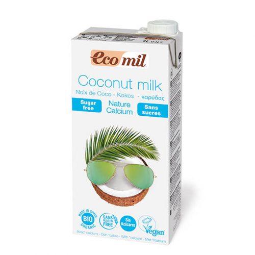 Ecomil Bebida Coco Nature Calcio Bio 1 lt