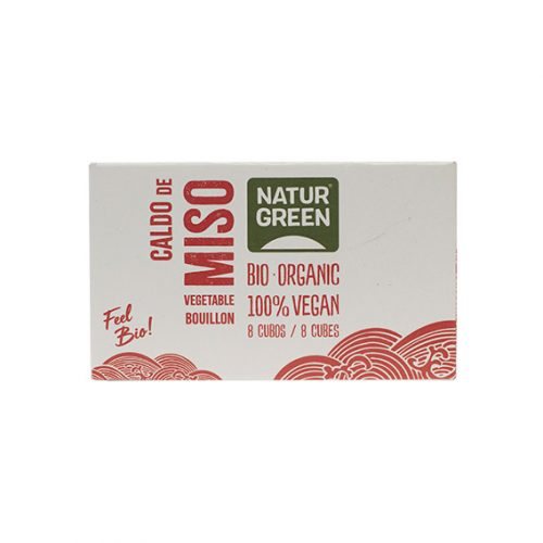 Naturgreen Caldo Miso Cubitos Bio 12 x 84 gr