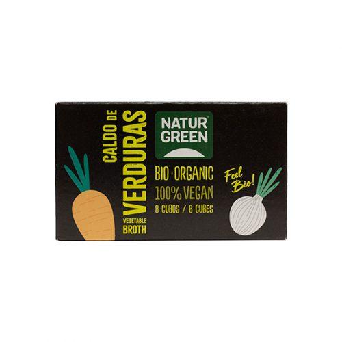 Naturgreen Caldo Verdura Cubitos Bio 12 x 84 gr