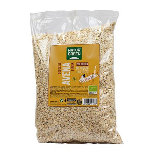 Naturgreen Copos de Avena Finos S/Gluten Bio 1000 gr