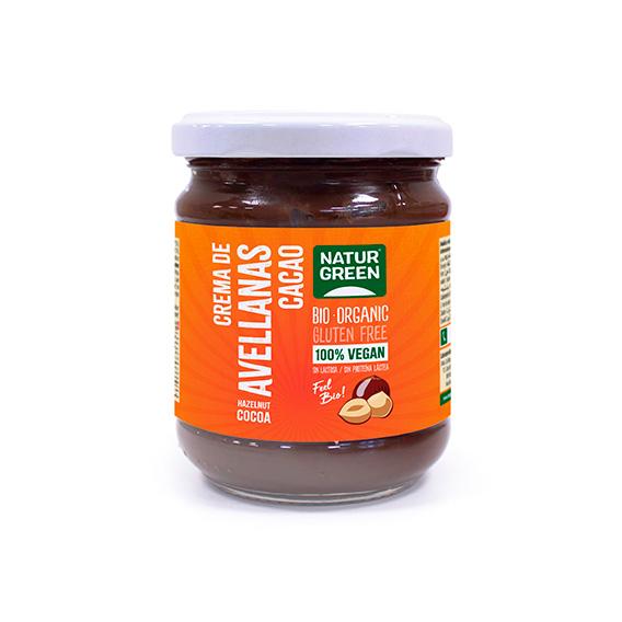 Naturgreen Crema Avellanas Chocolate Bio 200 gr