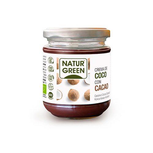 Naturgreen Crema de Coco Cacao Bio 200 gr