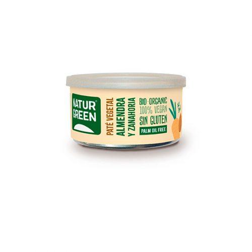 Naturgreen Paté Almendra y Zanahorias Bio 125 gr