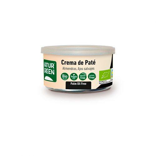 Naturgreen Paté Almendra Ajos Salvajes Bio 130 gr