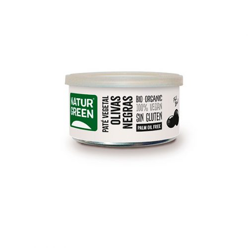 Naturgreen Paté Olivas Negras Bio 125 gr