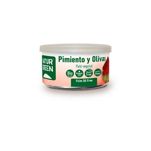 Naturgreen Paté Pimiento Olivas Bio 125 gr