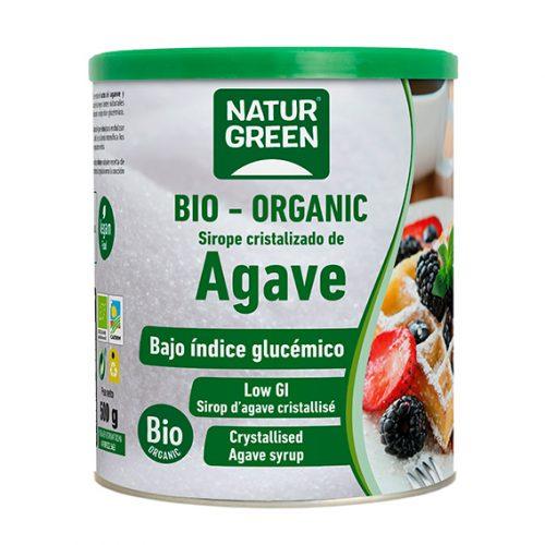 Naturgreen Sirope Cristalizado de Ágave en Polvo Bio 500 gr