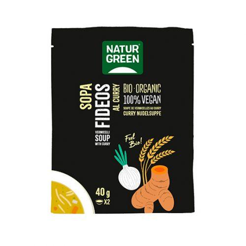 Naturgreen Sopa Fideos Curry Bio 6 x 40 gr