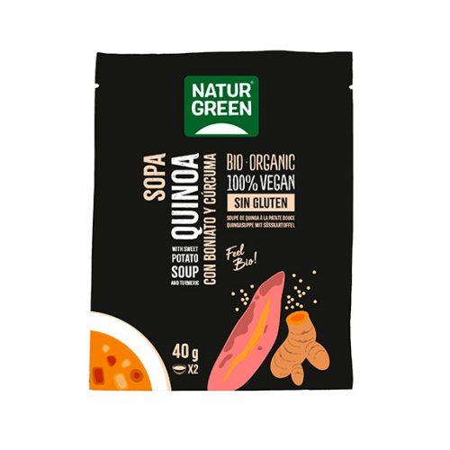 Naturgreen Sopa Quinoa Con Boniato & Cúrcuma 6x40 gr