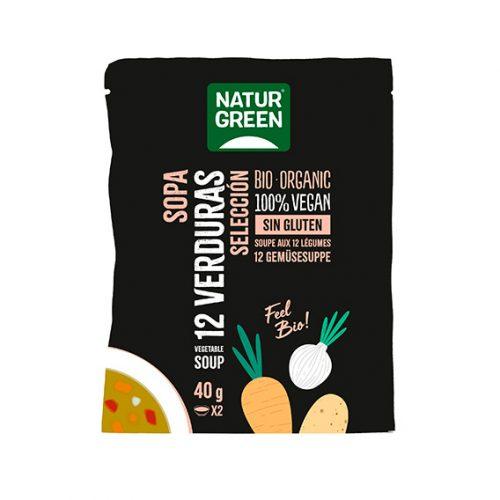 Naturgreen Sopa 12 Verduras Bio 6 x 40 gr