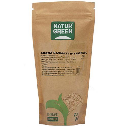 Naturgreen Arroz Basmati Integral Bio 500 gr