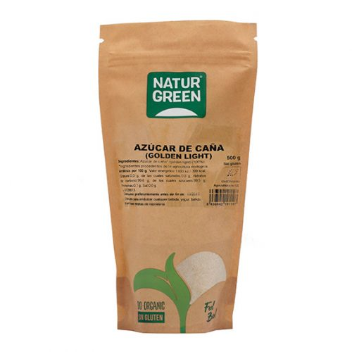 Naturgreen Azucar de Caña (Golden Light) 500 gr Bio