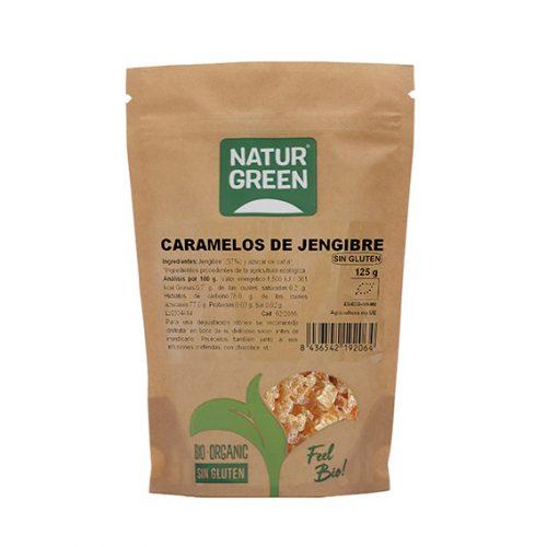 Naturgreen Caramelos de Jengibre Bio 125 gr
