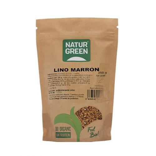 Naturgreen Lino Marrón Bio 250 gr
