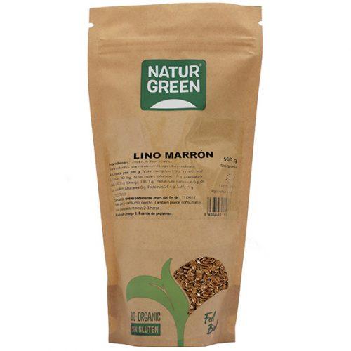 Naturgreen Lino Marrón Bio 500 gr