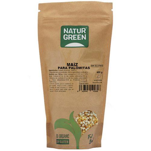 Naturgreen Maíz para Palomitas Bio 400 gr