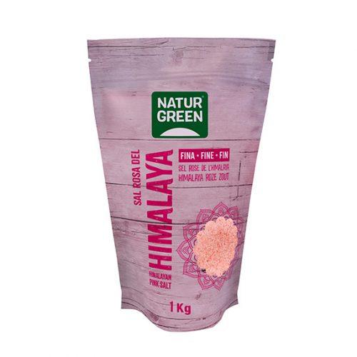 Naturgreen Sal Himalaya Fina (Rosa) 1 Kg