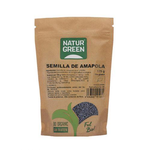 Naturgreen Semilla de Amapola Bio 175 gr