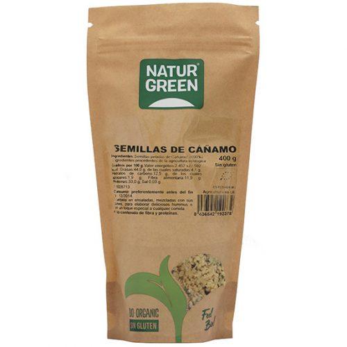 Naturgreen Semillas Cañamo Bio 400 gr