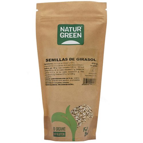 Naturgreen Semilla de Girasol Bio 450 gr