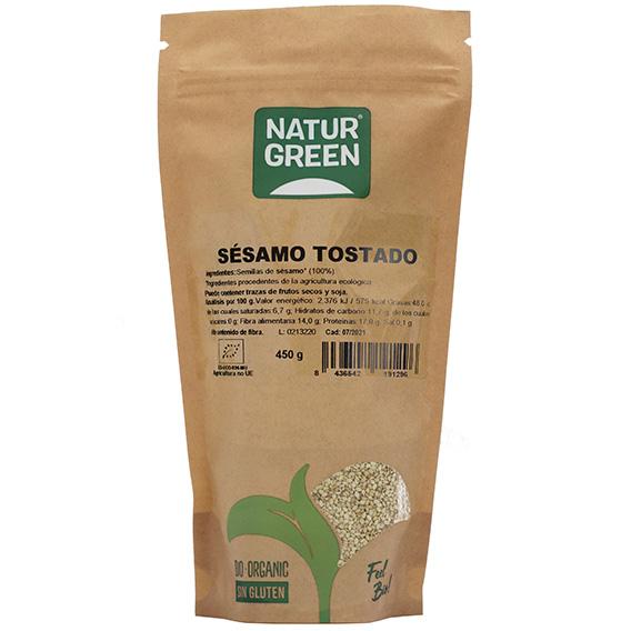 Naturgreen Sesamo Tostado Bio 450 gr