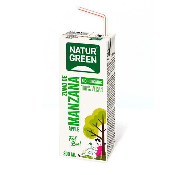Naturgreen Zumo de Manzana Bio 200 ml