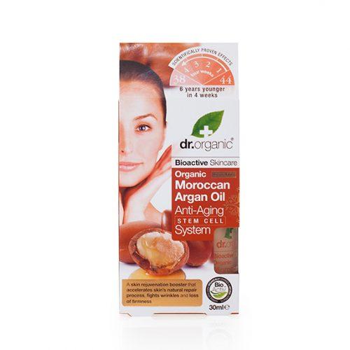 Aceite de Argan Organico Anti Edad con Sistema de Celulas Madre 30 ml.