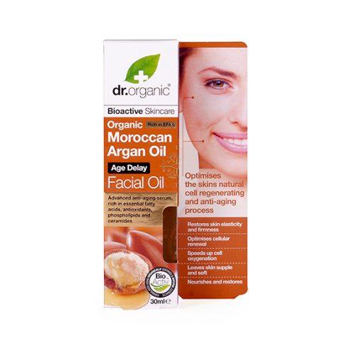 Aceite de Argan Organico Facial 30 ml.