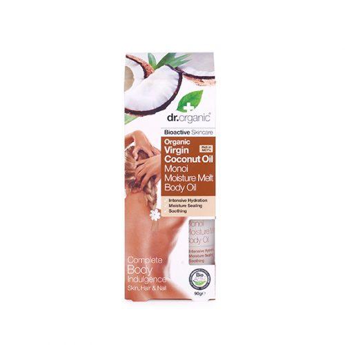 Aceite Corporal Hidratante de Aceite de Coco Virgen Organico 90 gr.