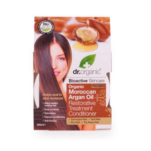 Acondicionador Tratamiento Restaurador de Aceite de Argan Organico 200 ml.