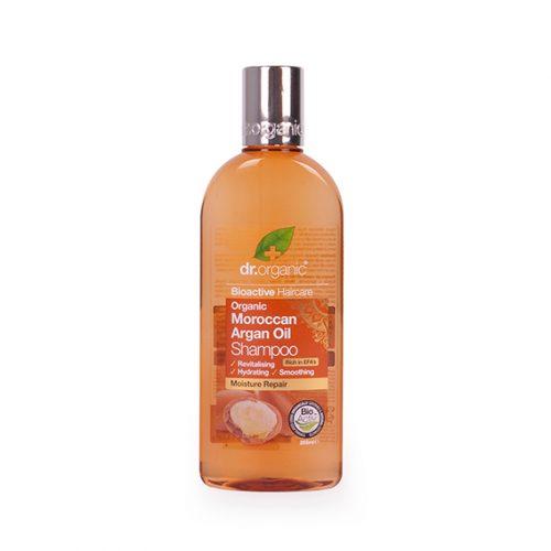 Champu de Aceite de Argan Organico 265 ml.