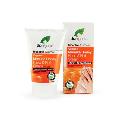 Crema de Manos y Uñas de Miel de Manuka Organica 125 ml.