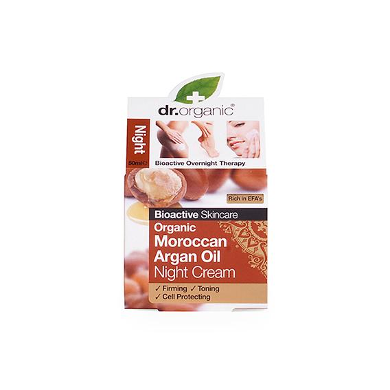 Crema de Noche de Aceite de Argan Organico 50 ml.