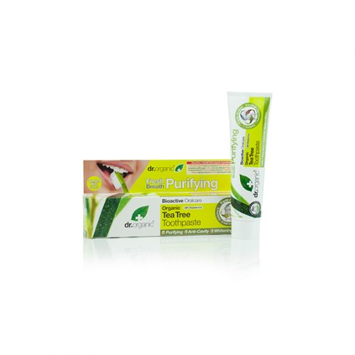 Dentifrico de Arbol de Te Organico 100 ml.