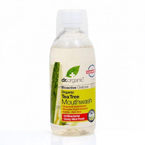 Enjuague Bucal de Arbol de Te Organico 500 ml.